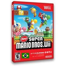 New Super Mario Bros Em Português Wii Receba Hoje