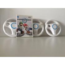 Mario Kart + 3 Volantes - Nintendo Wii