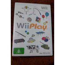 Jogo Wii Play Europeu Pal Completo Frete 7,00