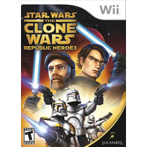 Star Wars: The Clone Wars - Republic Heroes (semi-novo) -...