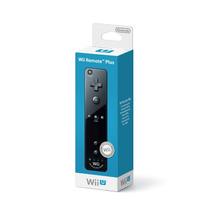 Controle Wii Remote Plus Preto Com Motion Plus Para Wii U