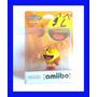 Amiibo Pac Man Nintendo Wii U Smash Bros Mario Original Novo