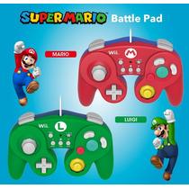 Controle Nintendo Wii U Mario Game Luigi Game Original