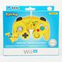 Controle Wii U Battle Pad Joystick Pikachu Lacrado