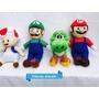 Mario E Luigi Toad E Yoshi Kit Com Os 4 Personagens