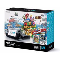 Nintendo Wii U Deluxe Set 32gb Completo + Jogos + Nfe
