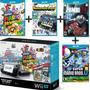 Wii U Deluxe Mario Bros Bundle 32gb Com 4 Jogos Completos