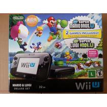 Nintendo Wii U 32gb Preto (frete Grátis)