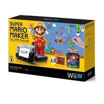 Nintendo Wii U 32 Gb Super Mario Maker + Jogo Amiibo Artbook