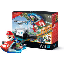 Nintendo Wiiu Deluxe 32gb+ Jogo Mario Kart 8. Novo!
