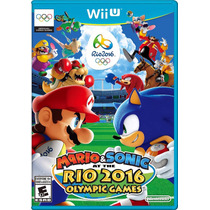 Mario & Sonic At The Rio 2016 Oliympic Games - Pré Venda