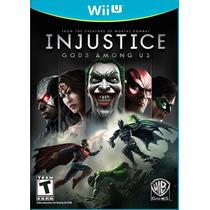 Injustice: Gods Among Us (em Português) - Wii U - Frete R$ 9