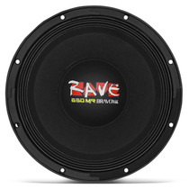 Woofer Bravox Rave Rv12-mr-s4 Panela 12 650w Rms 4 Ohms