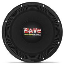 Woofer Bravox Rave Rv12-mr-s4 12 650w Rms 4 Ohms Projeto
