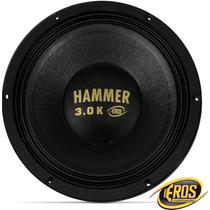 Eros 12 1500w Rms Hammer 3.0k Falante Medio Grave Pancadao