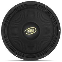 Woofer Eros E12 450 Lc Black 12 Polegadas 450w Rms 4 Ohms