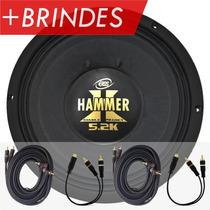 Woofer Eros Hammer 12 2600w 5.2k Falante Medio Grave +brinde