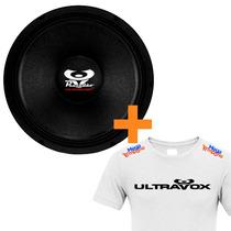 Alto Falante 12 Woofer Pancado 400 Ultravox + Camiseta