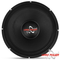 Falante 15 1450w Rms Woofer Hard Power Black Medio Grave