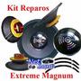 Kit Reparo Auto Falante Magnum Rex 18 600 Rms 4 / 8 Ohms