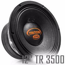 Alto Falante Woofer Triton 12 Pol. Tr 3500w Rms 2 Ohms Auto