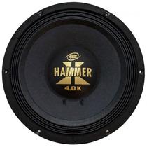 Alto Falante Woofer Eros E-12 Hammer 4.0k 12 Pol. 2000 Wrms
