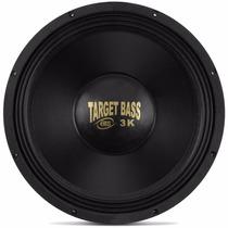 Alto Falante Eros E15 Target Bass 3.0k 4 E 8 Ohms 1.500w Rms