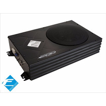 Caixa Amplificada Slim Falcon Sub 8 Polegada 200 Wrms X200