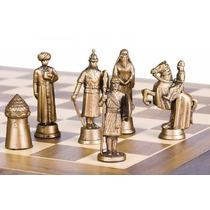 Jogo De Xadrez Temático + Tabuleiro Luxo Dobrável - Escolha