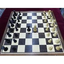 Jogo De Xadrez Conjunto Modelo Clássico Dama Extra