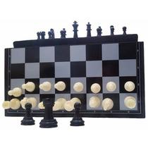 8 Jogos De Xadrez Magnético Dobrável Peças Plástica Com Imã