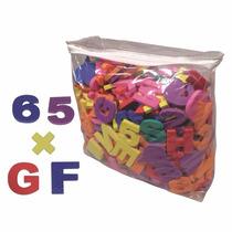 Alfanumérico E.v.a, C/ 468 Pcs, Aprendizado Letras E Números