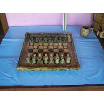 Tabuleiro De Xadrez Completo * Pedra-sabão * Lindo
