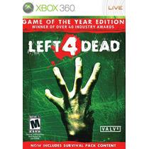 Left 4 Dead Goty - Xbox 360
