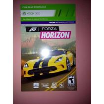 Forza Horizon Xbox 360 - Código 25 Dígitos - Pt-br