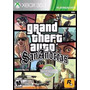 Jogo Gta Grand Theft Auto San Andreas Xbox 360 Novo Cd