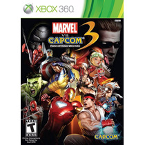 Jogo Marvel Vs Capcom 3 E Resident Evil Revelentions Xbox360