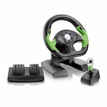 Volante Para Xbox 360 E Pc Pro50 Usb C/ Pedais Câmbio