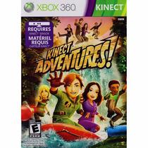 Jogo Xbox 360 Kinect Adventures - Novo Lacrado E Original