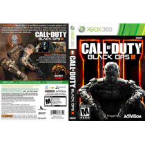 Xbox 360 - Call Of Duty Black Ops 3 - Lacrado - Míd Fís - Pt