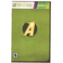 Manual De Instruções Do Jogo Kinect Adventure / Xbox