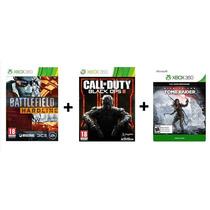 Jogo P/destravados Kit 3 Games - Jogos Xbox 360
