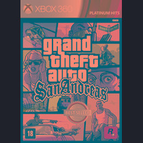 Grand Theft Auto Sanandreas - Gta - Xbox 360
