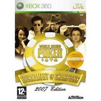 Jogo Xbox 360 - World Series Poker 2007 (original/raridade)