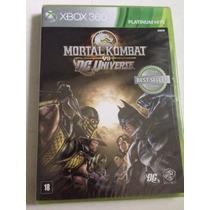 Jogo Para Xbox 360 Mortal Kombat Vs Dc Original Lacrado!