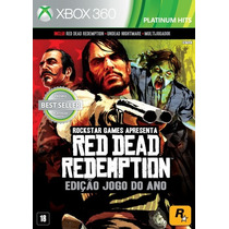 Red Dead Redemption:game Of The Year Edition Xbox 360