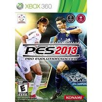 Jogo Original Xbox 360 Pes 2013 100%portuguesbr Frete 10,00