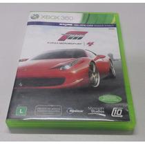 Jogo Forza Motorsport 4 Xbox 360 Original Ntsc