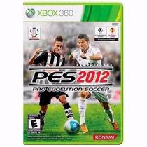 Jogo Pes 2012 Midia Física P/ Xbox 360 Usado - Tenho + Jogos
