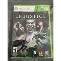 Injustice Gods Among Us Ultimate Edition Xbox 360 Português